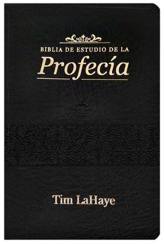 Biblia de estudio de la profecia RVR 1960, Piel Imit. Negra LIBRERIAPENIEL.COM