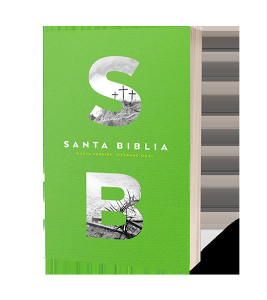 Biblia NVI Excelencia Ultrafina Tapa Rustica VERDE